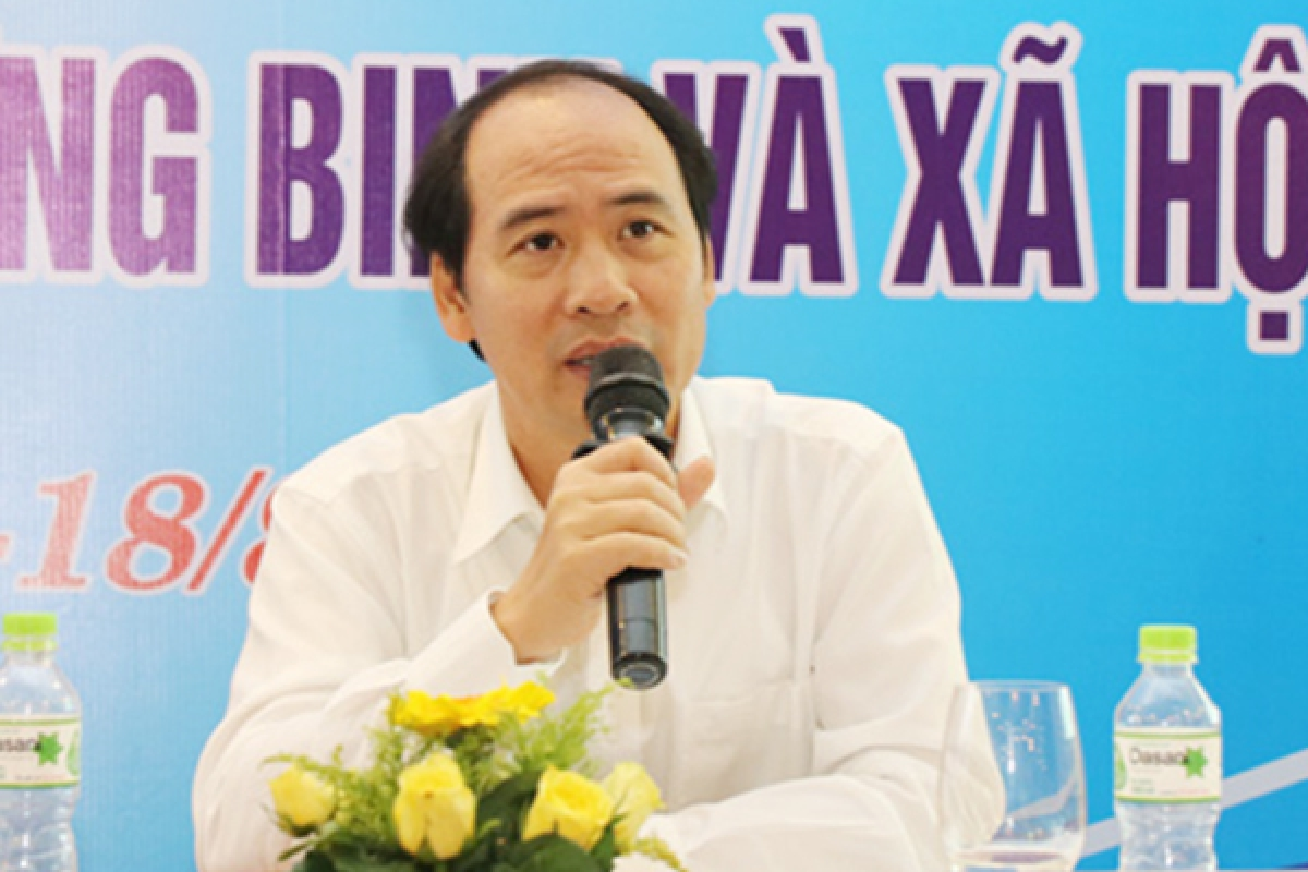 Ông Nguyễn Văn Hồi, Thứ trưởng Bộ LĐ-TB-XH.