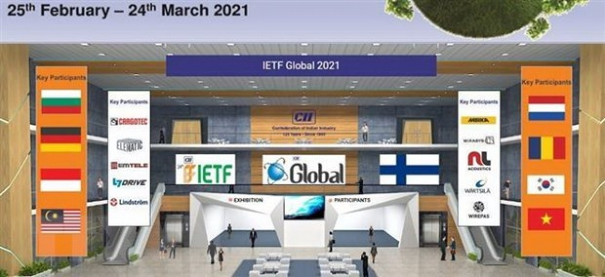 The virtual platform of the24th International Engineering & Technology Fair, held bythe Confederation of Indian Industry