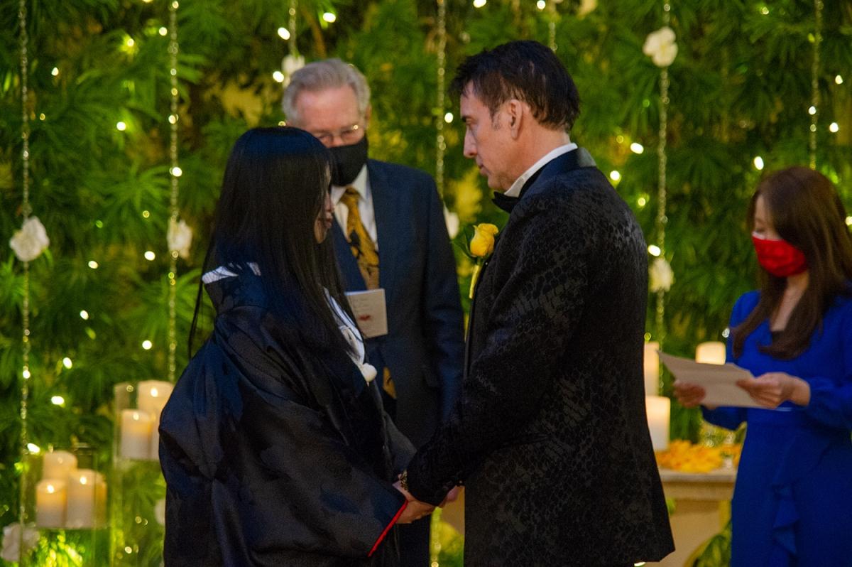Lễ cưới của Nicholas Cage và Riko Shibata được tổ chức lại Las Vegas. Nguồn: The Wynn Hotel