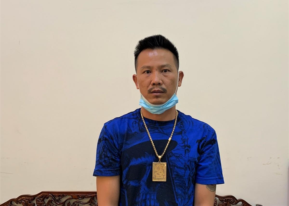 Nghi can liên quan vụ hỗ chiến ở TP Cần Thơ bị Công an tỉnh Cà Mau bắt giữ.