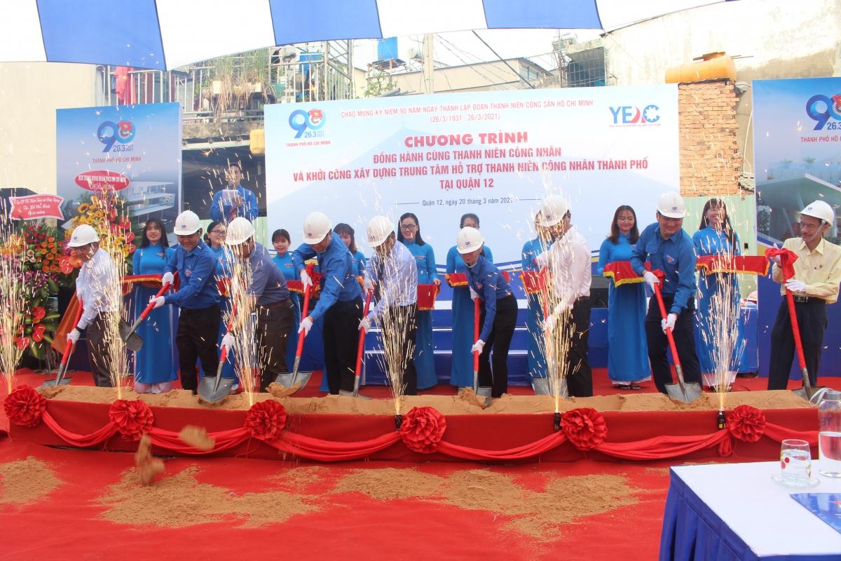 Lễ khởi công xây dựng Trung tâm hỗ trợ thanh niên công nhân TP