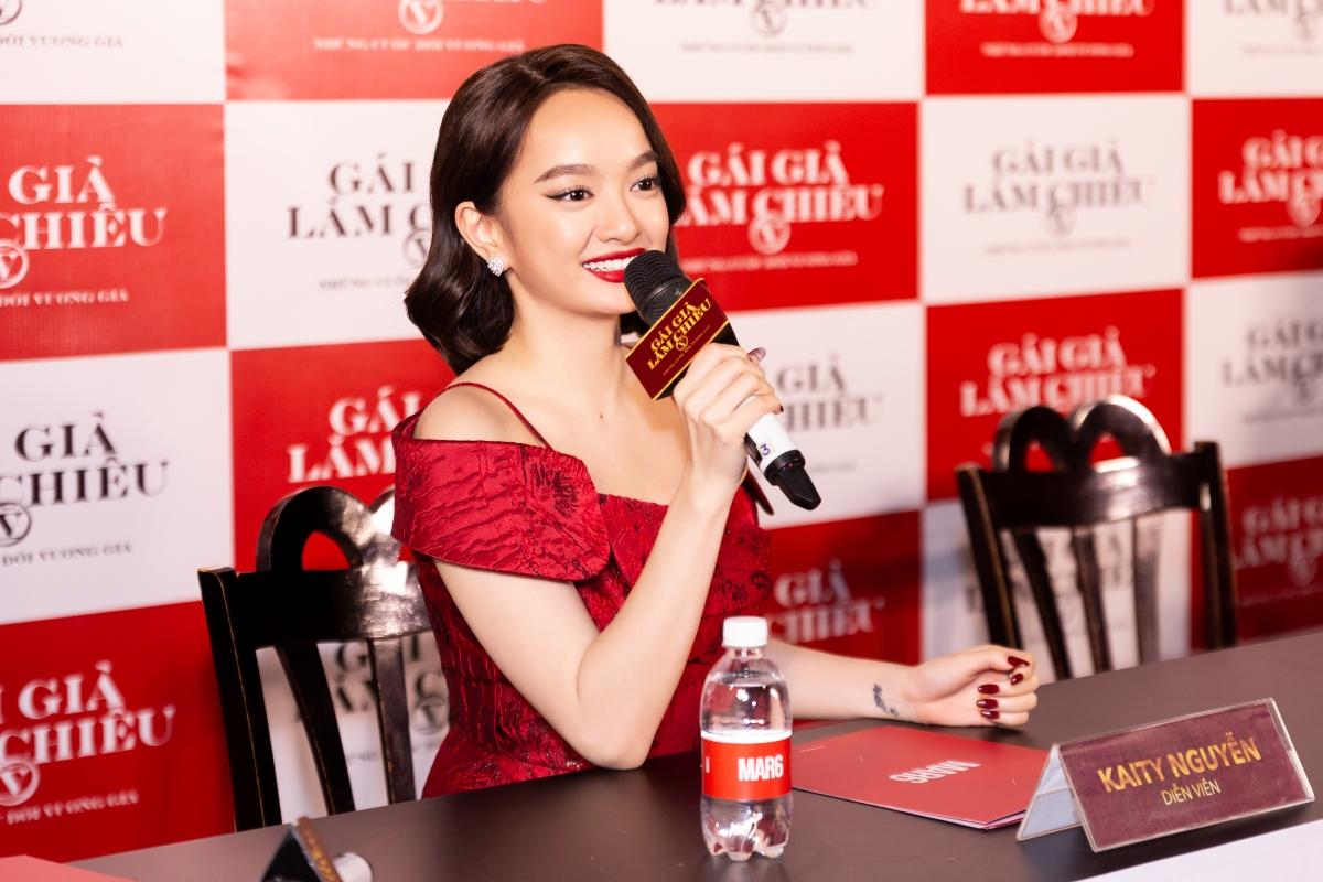 Nữ diễn viên Kaity Nguyễn.