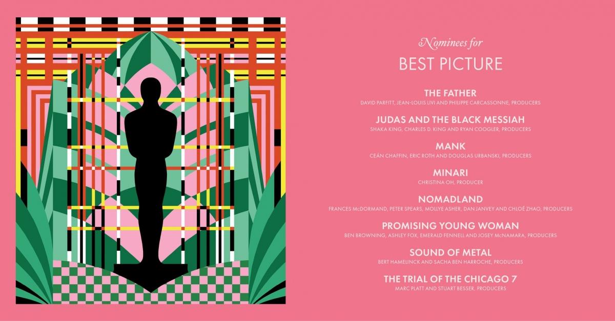 """8 bộ phim được đề cử cho hạng mục """"Phim hay nhất""""."""