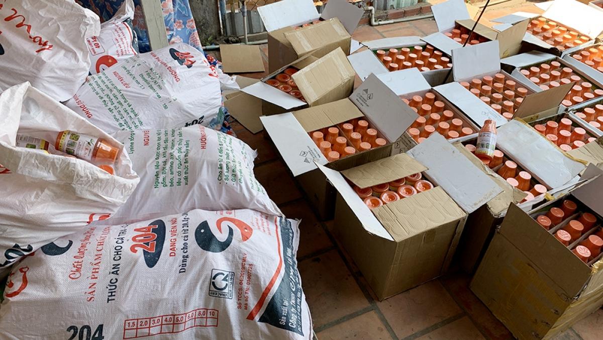 Hiên số thuốc này đã bàn giao Cục Quản lý thị trường tỉnh An Giang để tiếp tục điều tra.