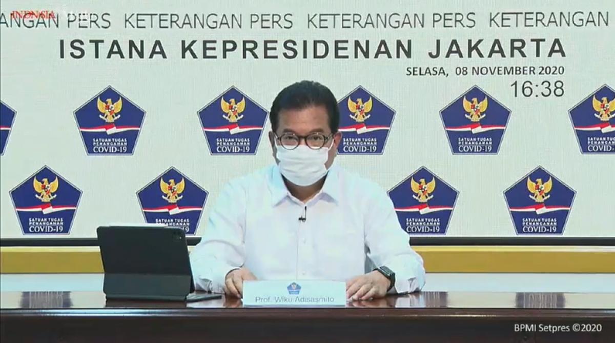 Wiku Adisasmito, phát ngôn viên của Lực lượng đặc nhiệm xử lý COVID-19 Indonesia. (Nguồn: Ban thư ký Tổng thống)