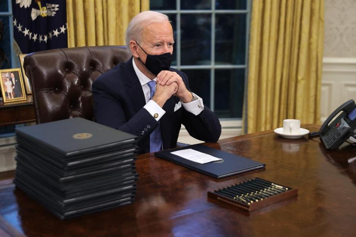 Tổng thống Joe Biden. Ảnh: Getty
