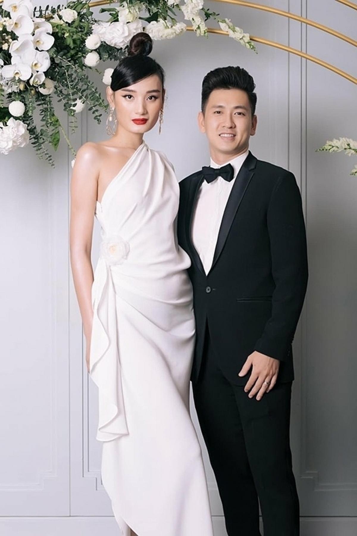 Lê Thuý và chồng, doanh nhân Đỗ An.