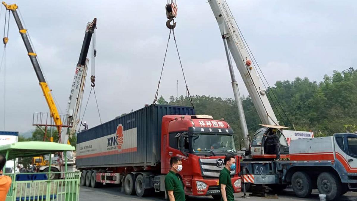Nhiều doanh nghiệp logistics đã được trang bị máymóc, thiết bị hiện đại. (Ảnh:logistics.gov.vn)