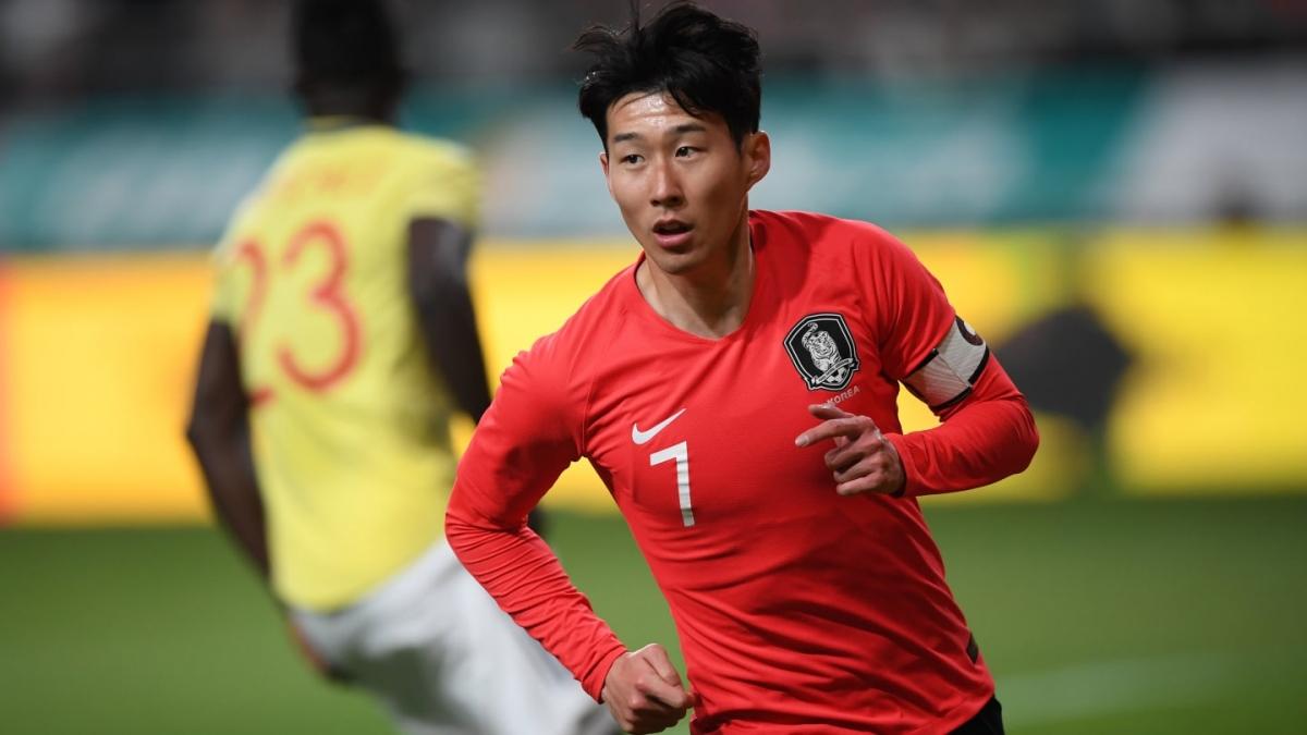 Son Heung Min sẽ bỏ lỡ trận đấu giữa Hàn Quốc và Nhật Bản ngày 25/3 tới. (Ảnh: AFC).