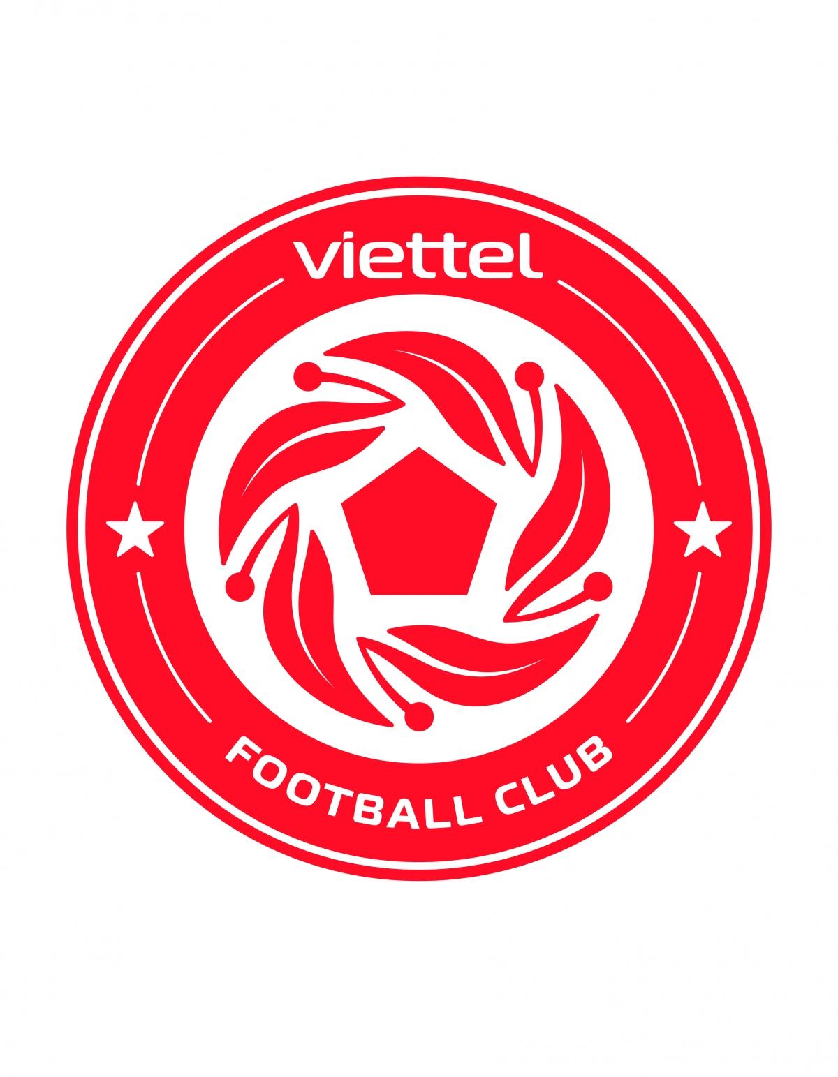 """Logo mới đậm """"chất lính"""" của Viettel FC."""