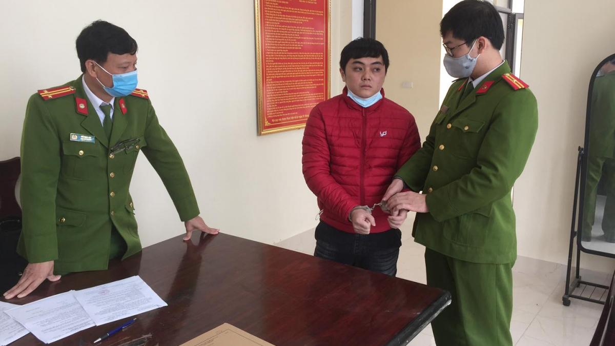 Đối tượng Phan Thanh Bình tại cơ quan điều tra