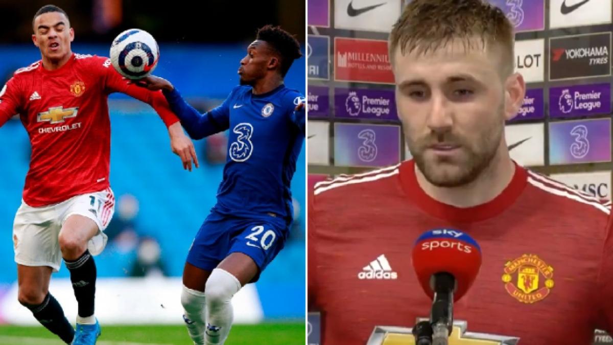 Luke Shaw có nguy cơ lĩnh án phạt cấm thi đấu từ FA. (Ảnh: Metro)
