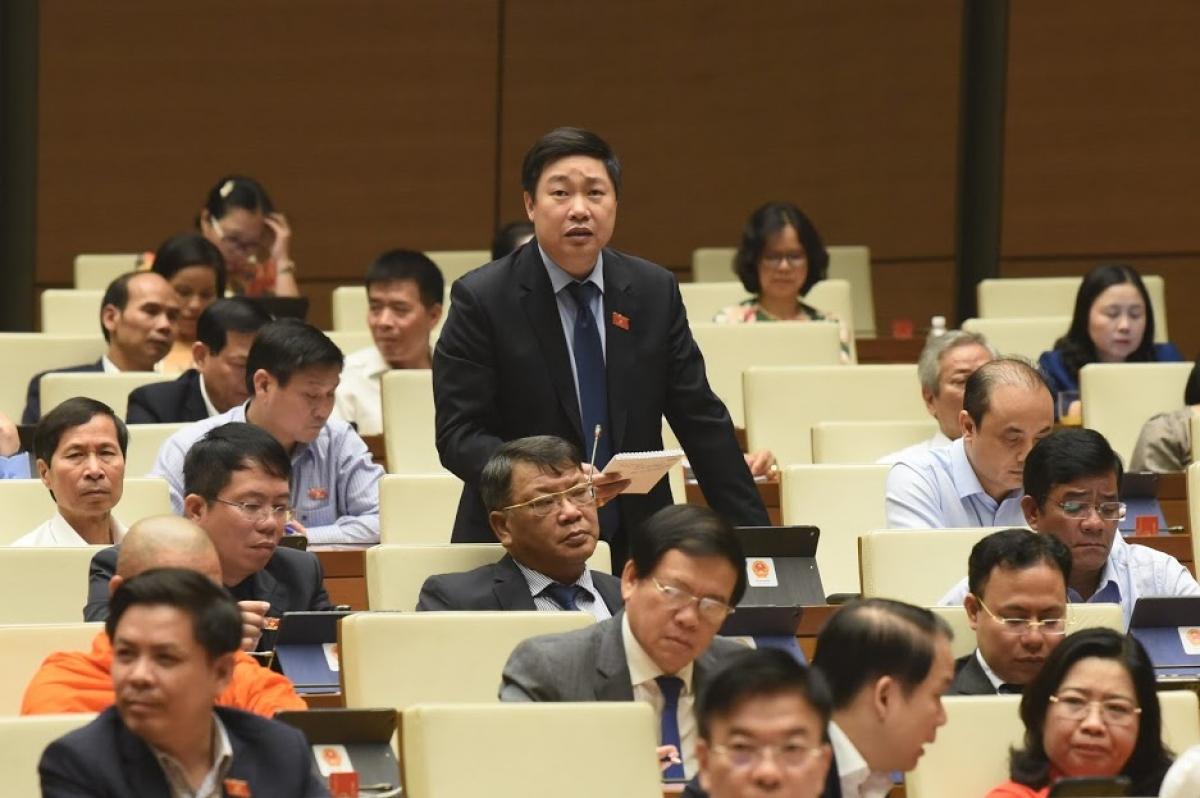 Đại biểu Mai Khanh, Đoàn ĐBQH tỉnh Ninh Bình .