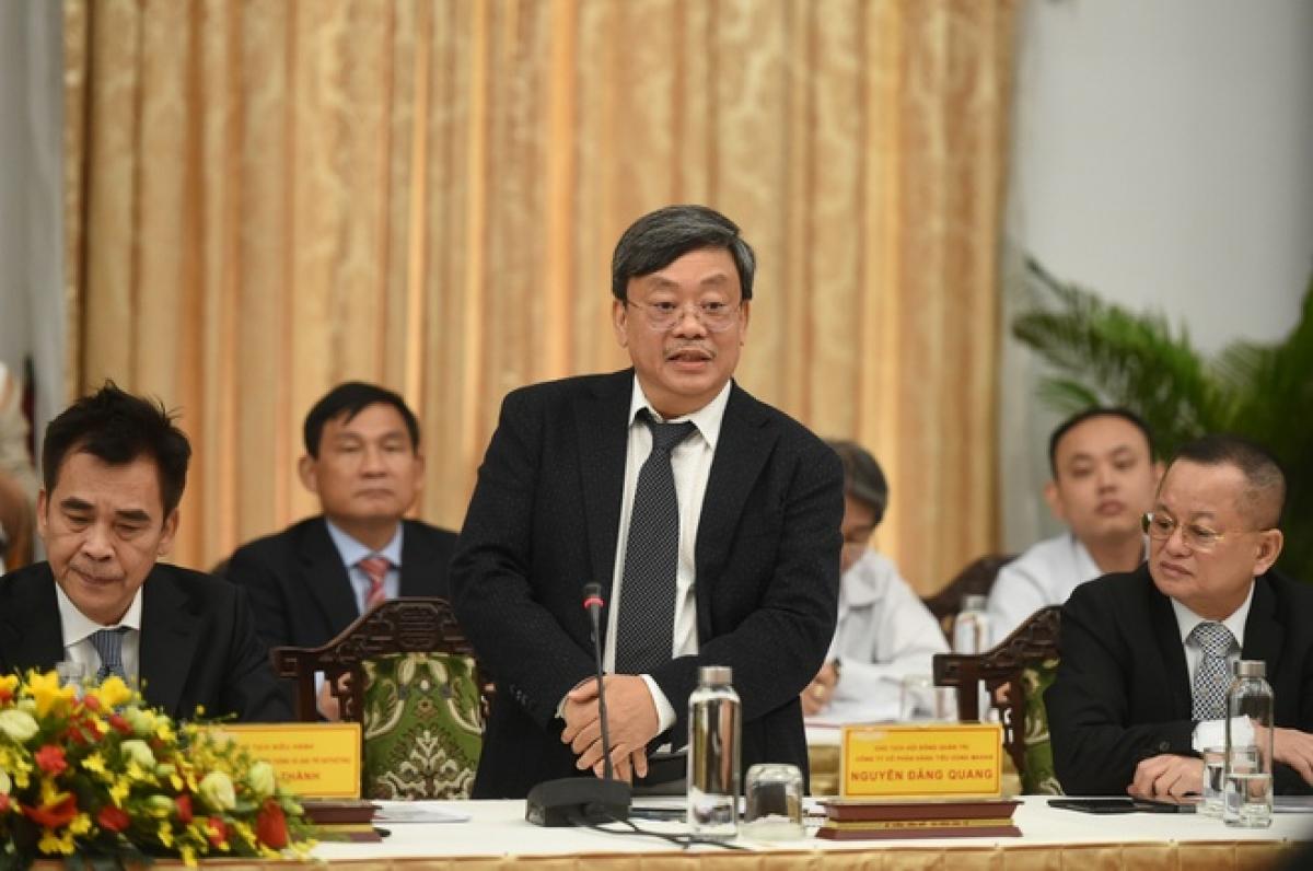 Ông Nguyễn Đăng Quang, Chủ tịch Công ty Masan (Ảnh: KT)
