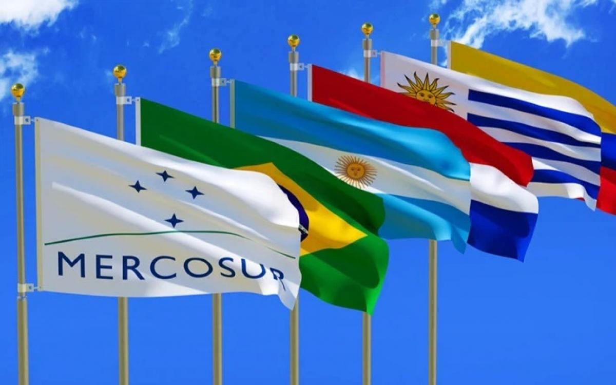 Khối Mercosur. Ảnh: Rio Times.