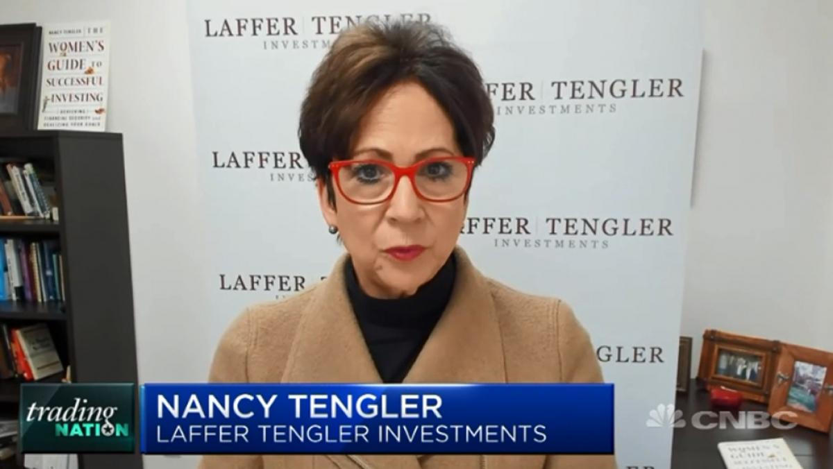 Chuyên gia Nancy Tengler của công ty tư vấn đầu tư Laffer Tengler Investments dự báo khá lạc quan về giá dầu.