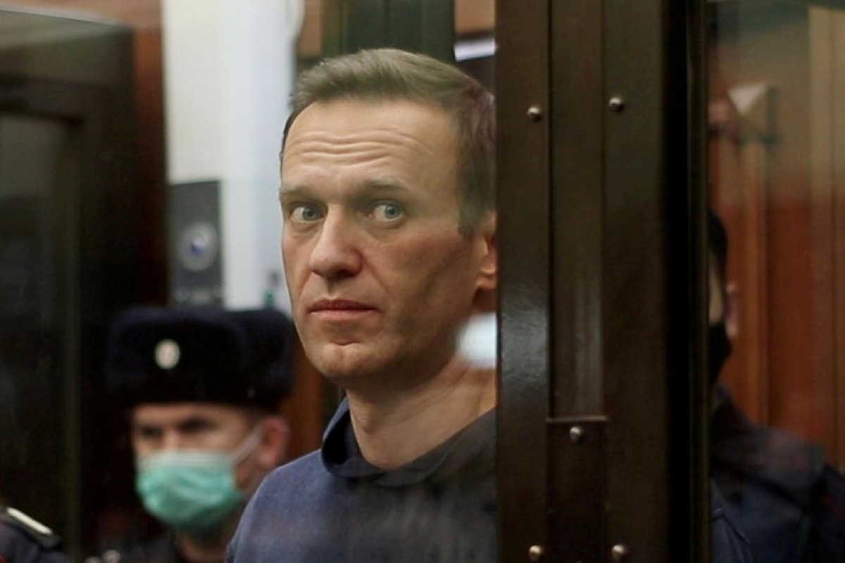 Chính trị gia đối lập ở Nga Alexei Navalny. Ảnh: Reuters