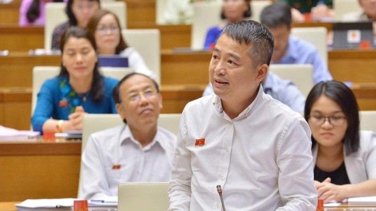Đại biểu Nguyễn Lân Hiếu, đoàn An Giang