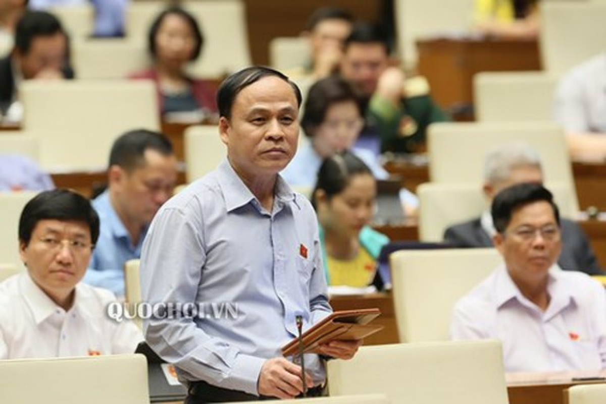 Đại biểu Nguyễn Bắc Việt, đoàn Ninh Thuận