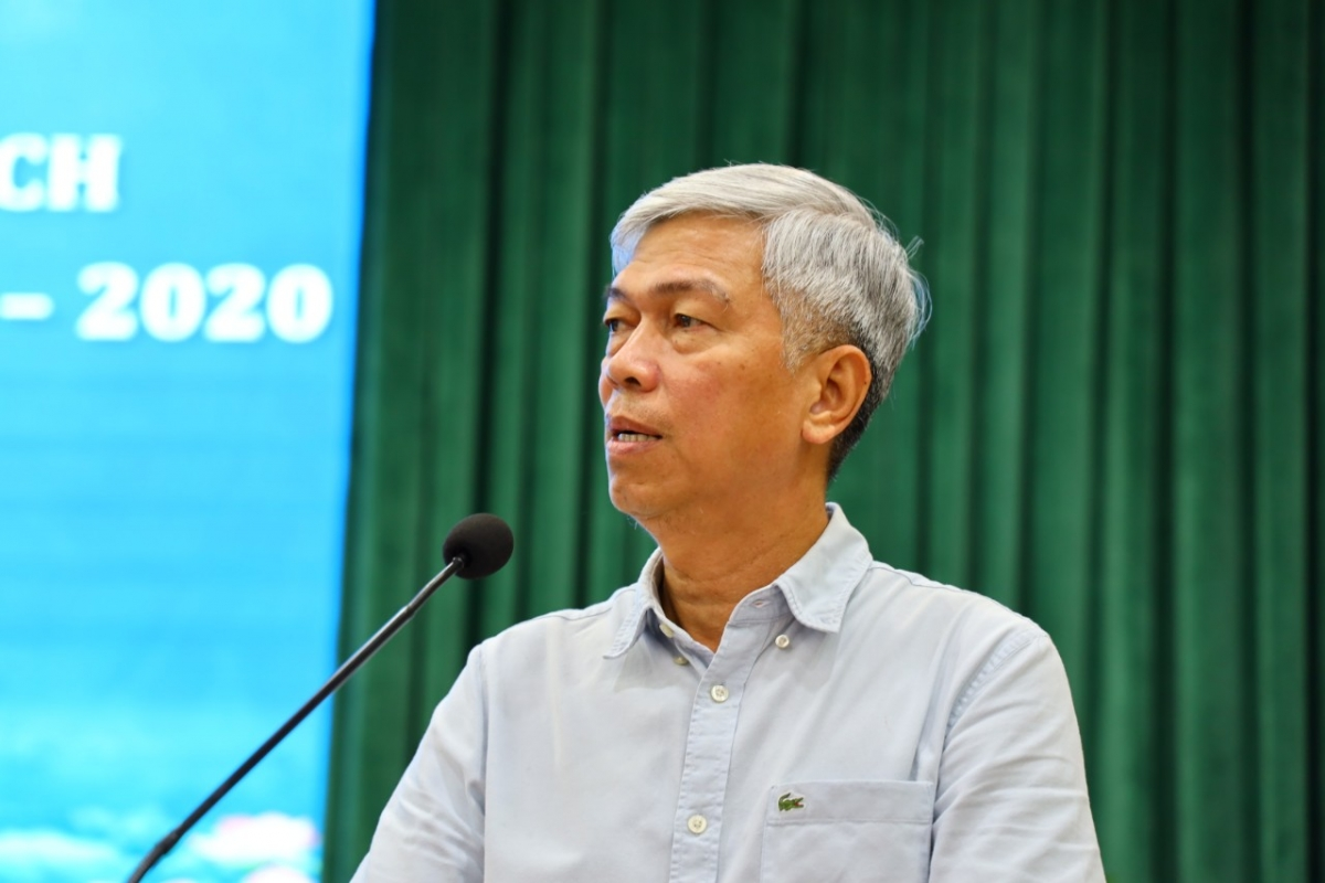 Ông Võ Văn Hoan, Phó Chủ tịch UBND TPHCM phát biểu tại Hội nghị.