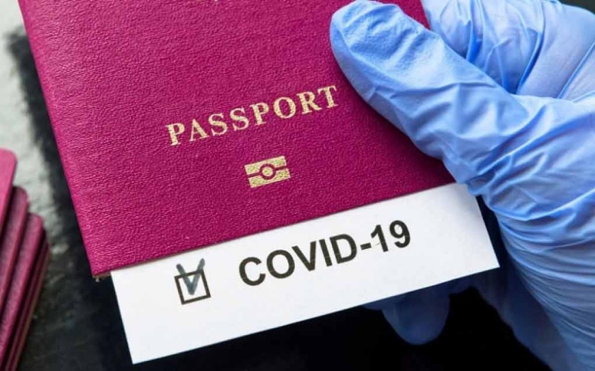 Vietnam is considering the option of a vaccine passport. (Illustrative image0