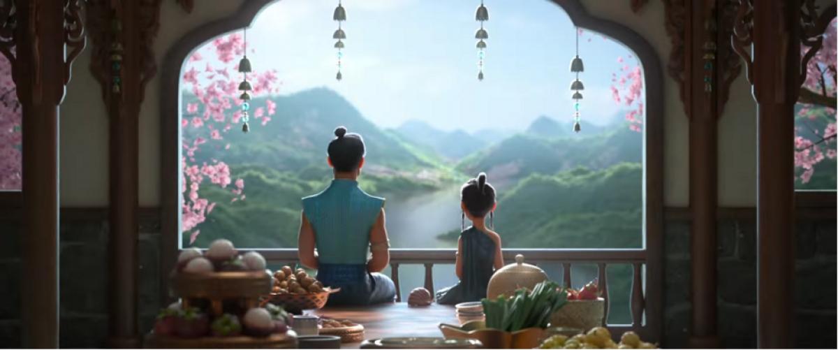 """""""Raya và rồng thần cuối cùng"""" nêu bật ý nghĩa gia đình."""