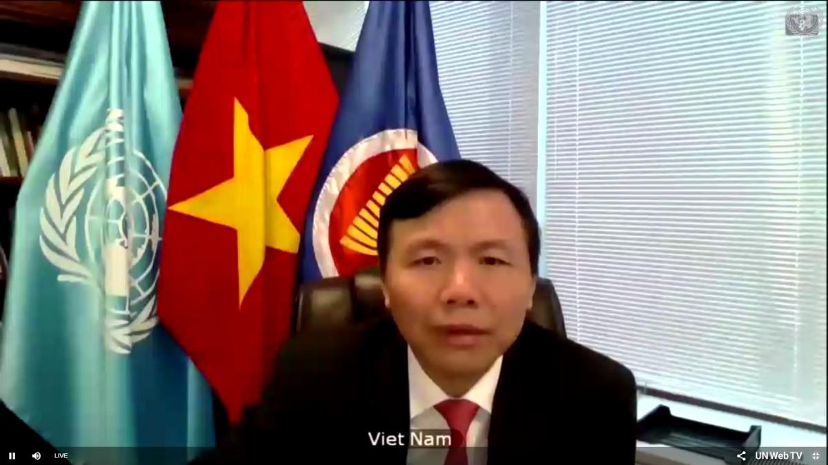 Đại sứ Đặng Đình Quý tham dự phiên họp của Hội đồng Bảo an Liên Hợp Quốc về tình hình Myanmar.