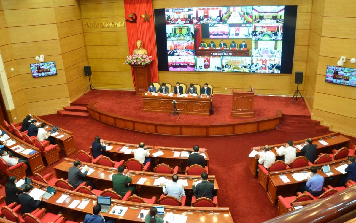 Quảng Ninh đã sơ kết bước 1 tình hình triển khai công tác bầu cử đại biểu Quốc hội khóa XV và đại biểu HĐND các cấp tỉnh Quảng Ninh nhiệm kỳ 2021-2026.