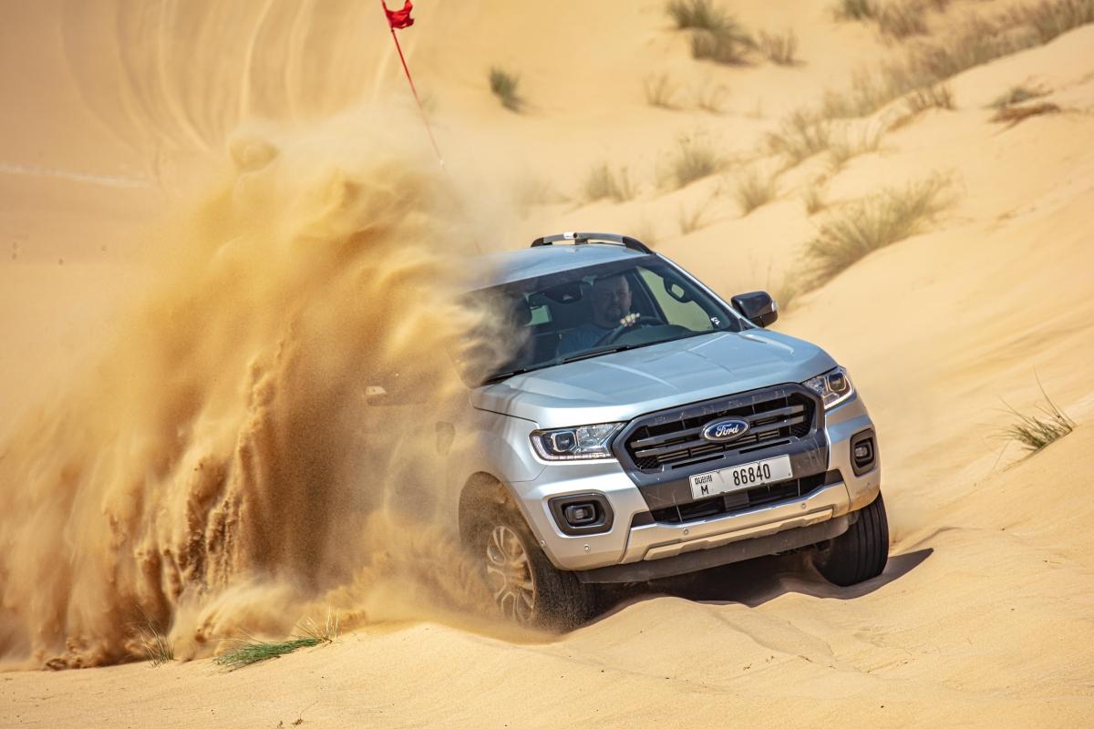 Các sa mạc tại Trung Đông luôn rất khắc nghiệt, đặc biệt vào mùa hè khi nhiệt độ thường vượt trên 50 độ C.