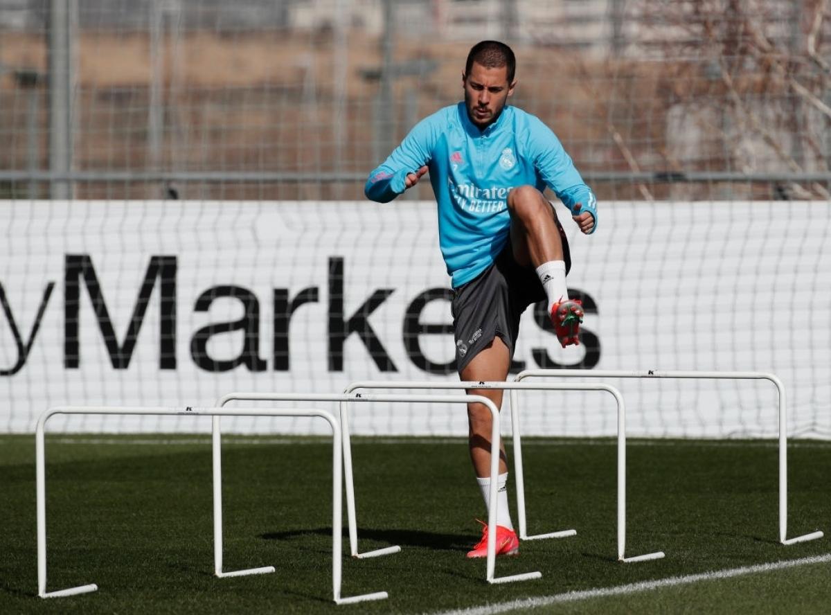 Hazard bị tái phát chấn thương trong quá trình tập hồi phục (Ảnh: Getty).
