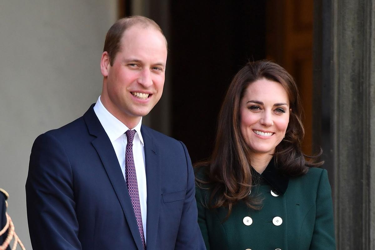 Hoàng tử William và Công nương Kate. Ảnh: Vanity Fair.