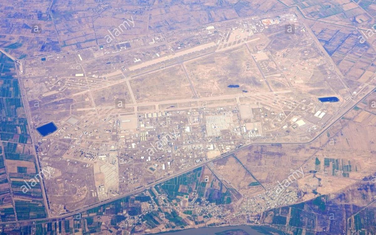 Sân bay Balad. Ảnh: Alamy.