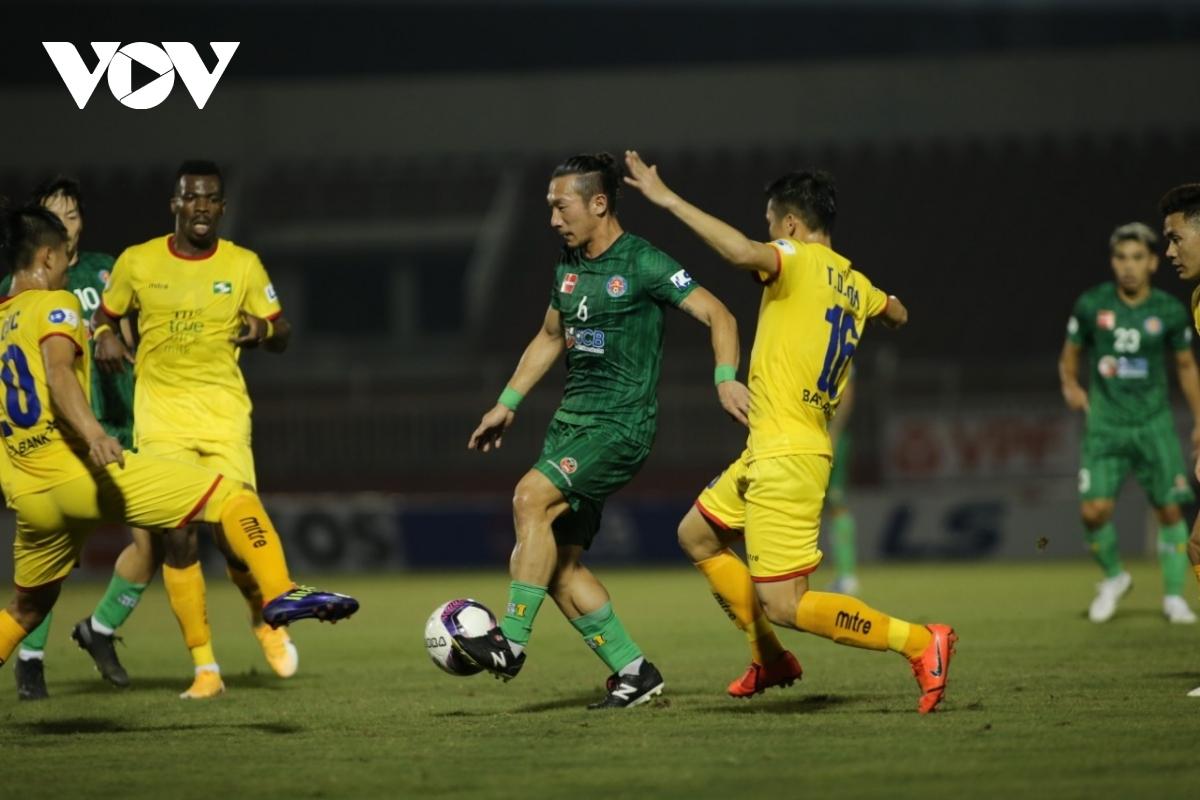 Sài Gòn FC sẽ đá vòng bảng AFC Cup 2021 ở Singapore. (Ảnh: Minh Hoàng).