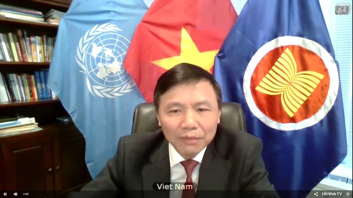 Đại sứ Đặng Đình Quý tham dự phiên họp trực tuyến của Hội đồng Bảo an Liên Hợp Quốc về Nam Sudan.