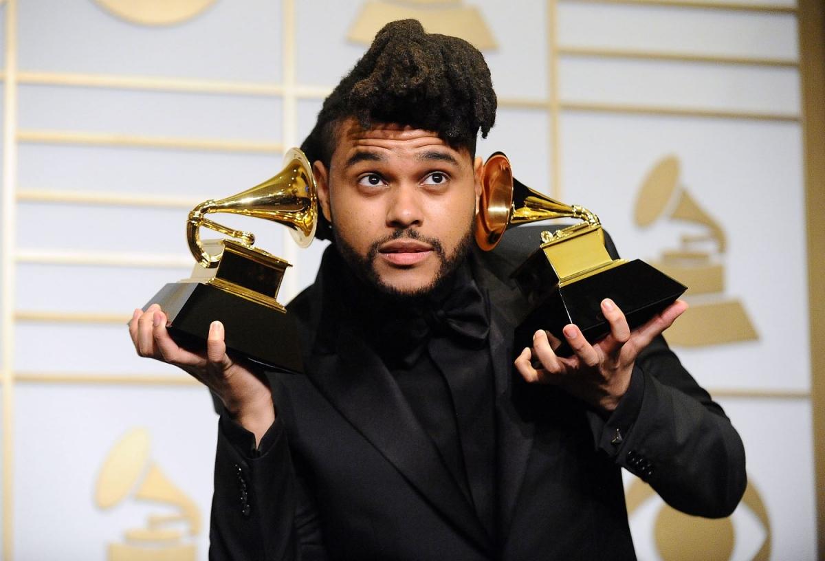 The Weeknd từng giành 3 giải thưởng Grammy.