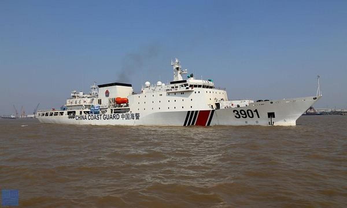 Tàu hải cảnh Trung Quốc. Ảnh: The Diplomat