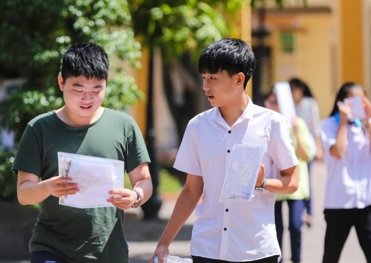 Thí sinh tham dự thi tốt nghiệp THPT. (Ảnh minh hoạ: H.C)