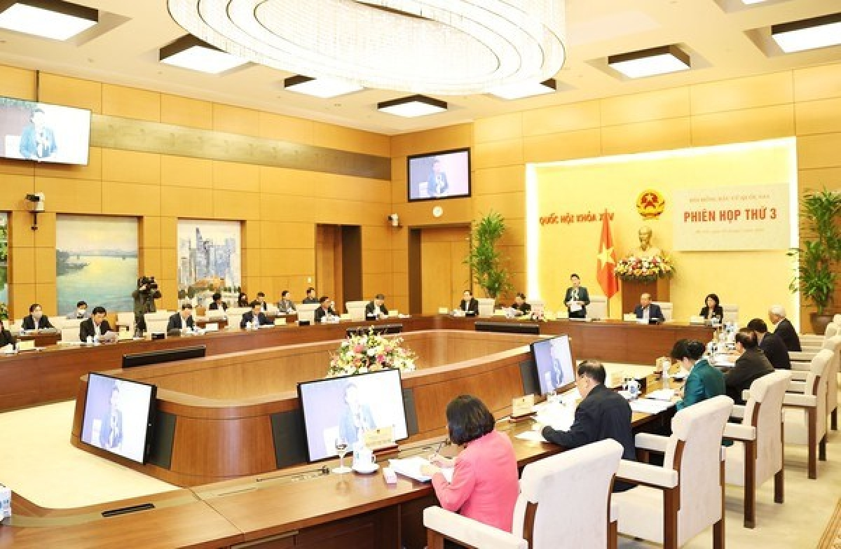 The third meeting of the NEC was held in Hanoi on March 3 (Photo: VNA)