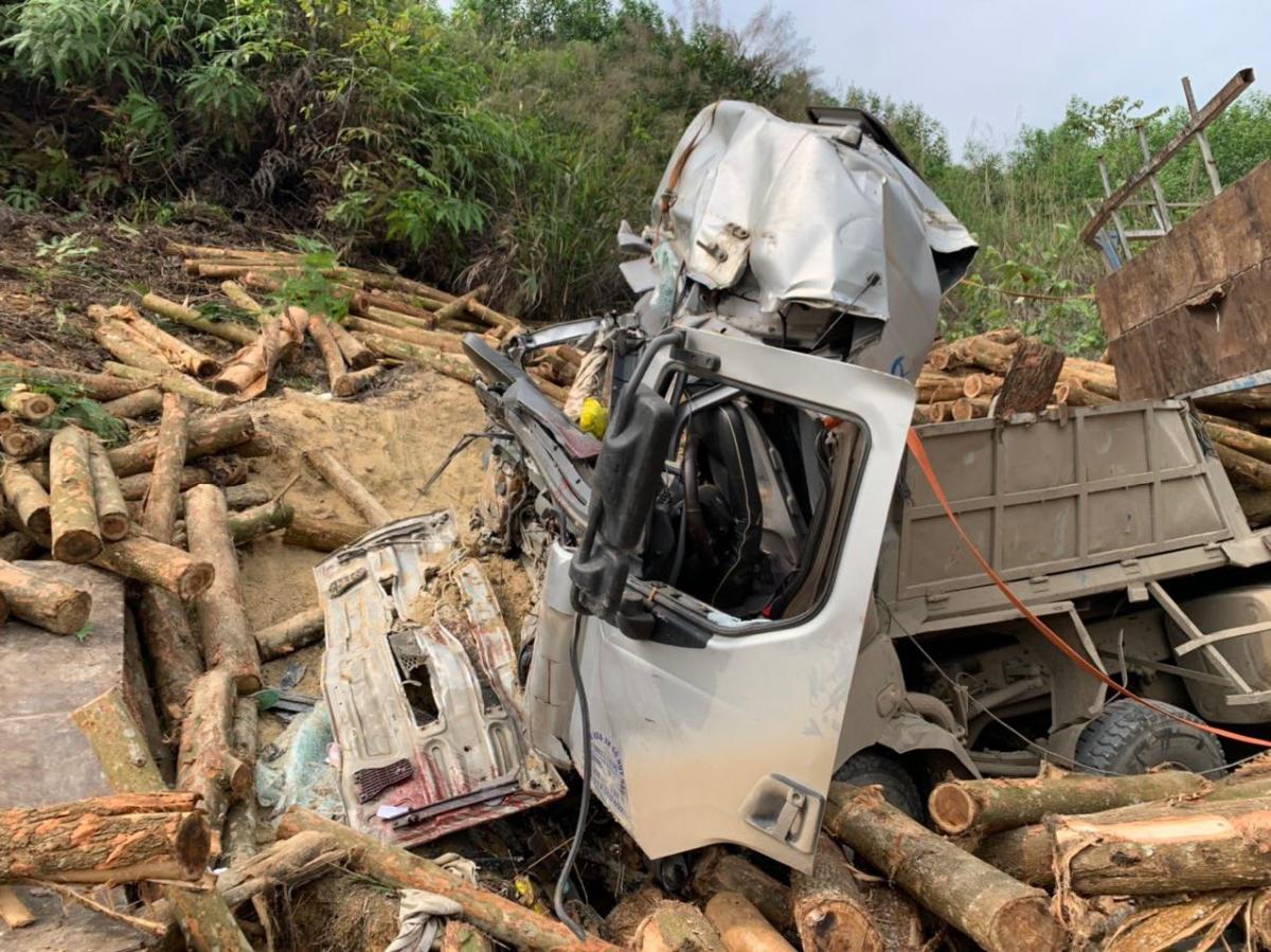 Theo Phòng Quản lý vận tải Sở GTVT Thanh Hóa, tốc độ xe tải trước khi gây tai nạn 34km/h và thời điểm xảy ra tai nạn giao thông lúc 21 giờ 18 phút đo được là 46km/h.