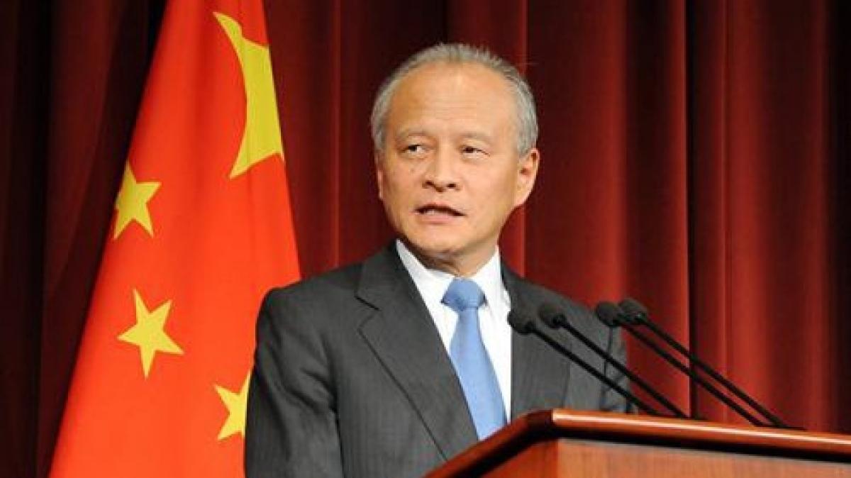 Đại sứ Trung Quốc tại Mỹ Thôi Thiên Khải. Ảnh: AP