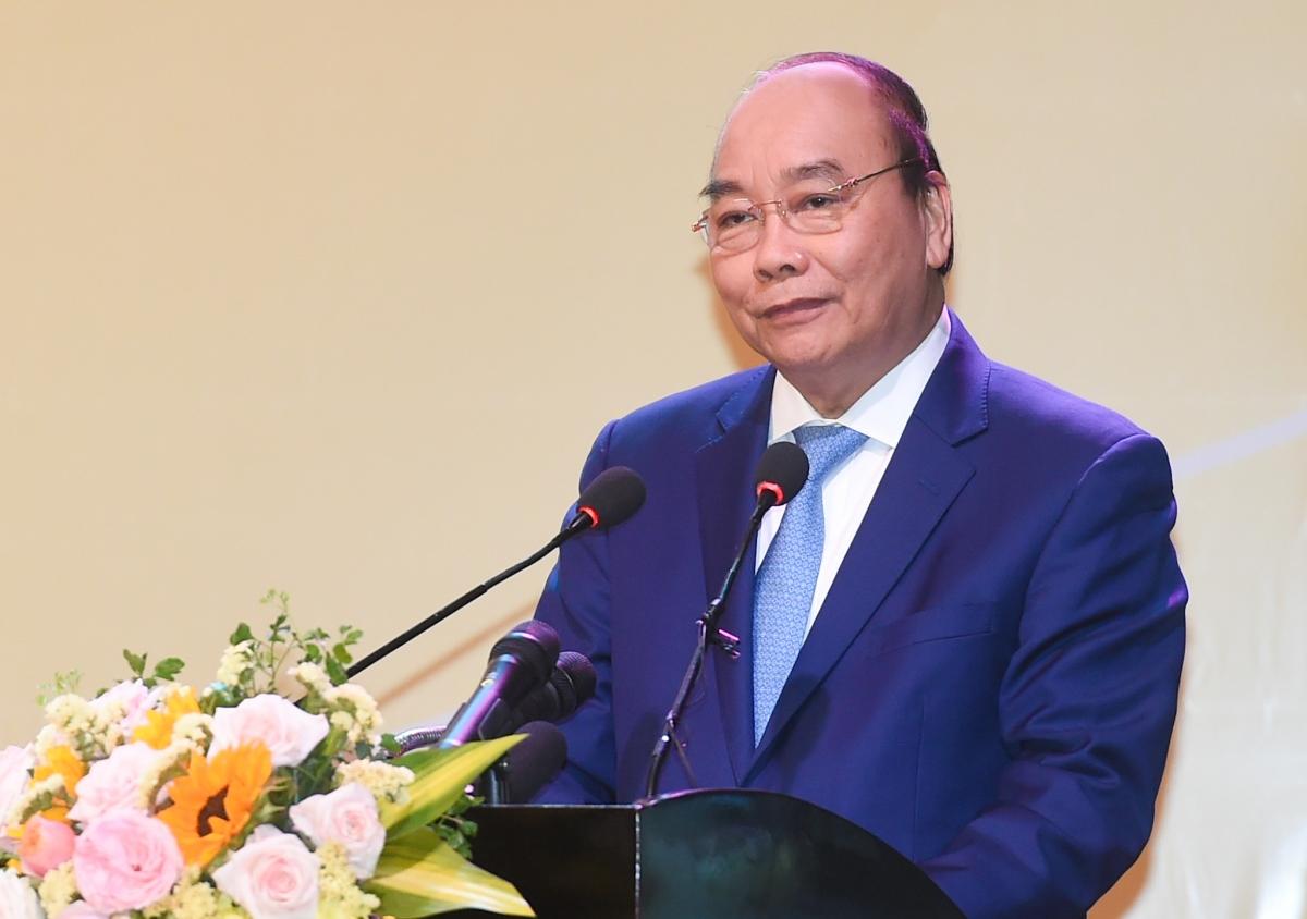 Thủ tướng Nguyễn Xuân Phúc đánh giá cao nhiều ý kiến, báo cáo, tham luận hết sức sâu sắc, tâm huyết, trách nhiệm, đầy trăn trở. Ản: VGP/Quang Hiếu