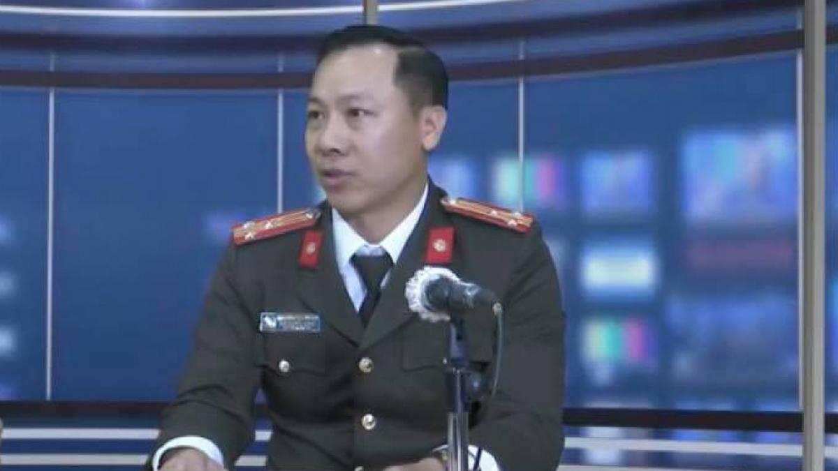 Thượng tá Nguyễn Đình Đỗ Thi, Phó Trưởng phòng Tham mưu, Cục An ninh mạng và phòng chống tội phạm sử dụng công nghệ cao, Bộ Công An
