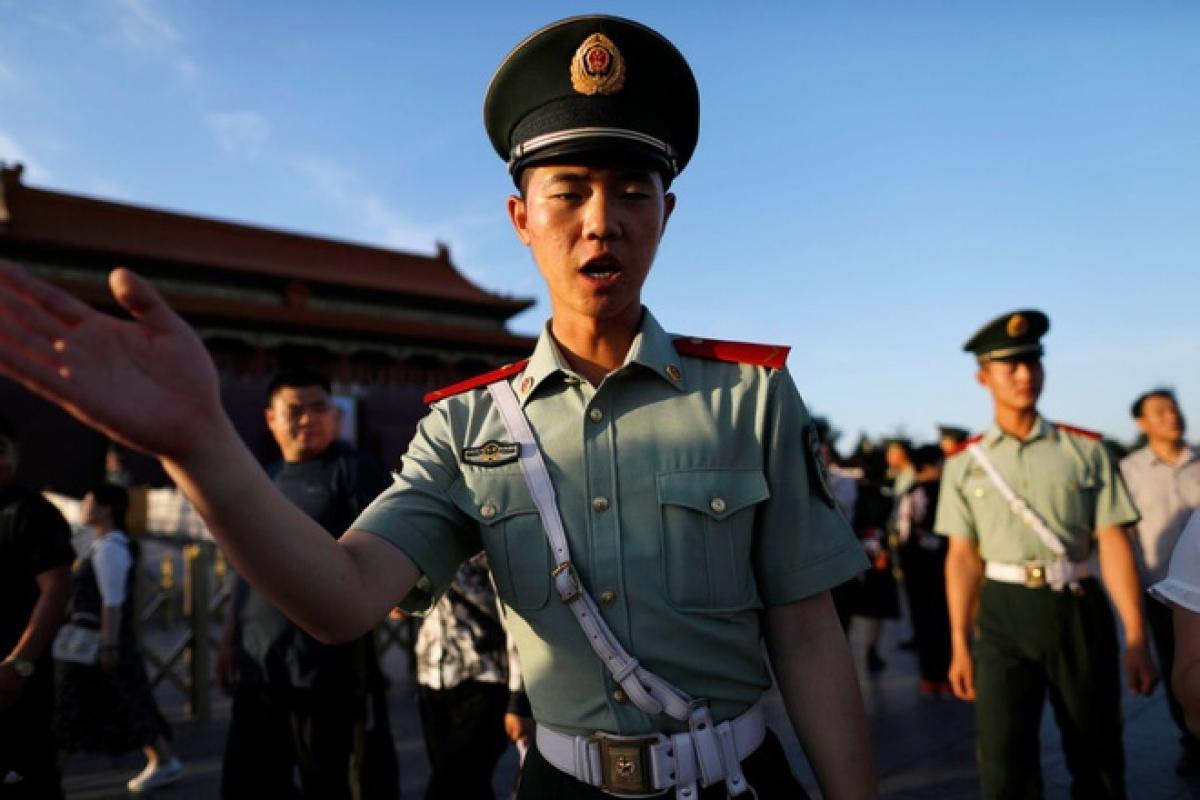 Đây là lần đầu tiên kể từ năm 1989 phía Liên minh châu Âu ra các lệnh trừng phạt nhằm vào Trung Quốc với các cáo buộc nhân quyền. Ảnh: AP