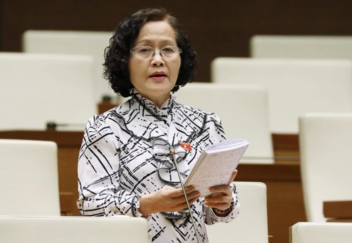 Đại biểu Trần Quốc Khánh, đoàn Hà Nội.