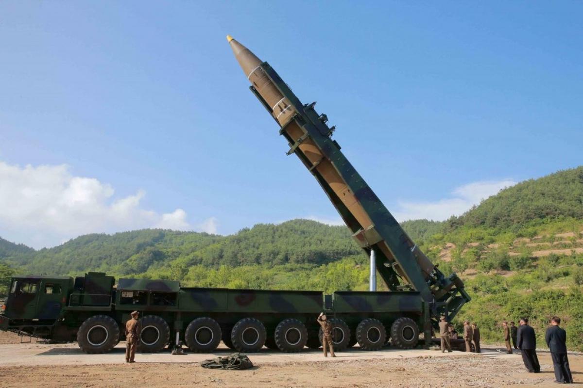 Vụ phóng tên lửa của Triều Tiên diễn ra vào lúc chính quyền Tổng thống Mỹ Joe Biden chuẩn bị công bố chính sách mới đối với Triều Tiên. (Ảnh minh họa: KT)
