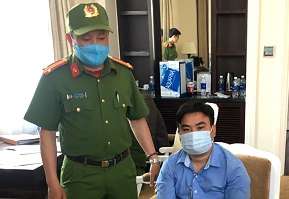Nguyễn Minh Nhật bị bắt quả tang khi thực hiện vụ trộm tài sản giá trị lên đến hơn 500 triệu đồng.