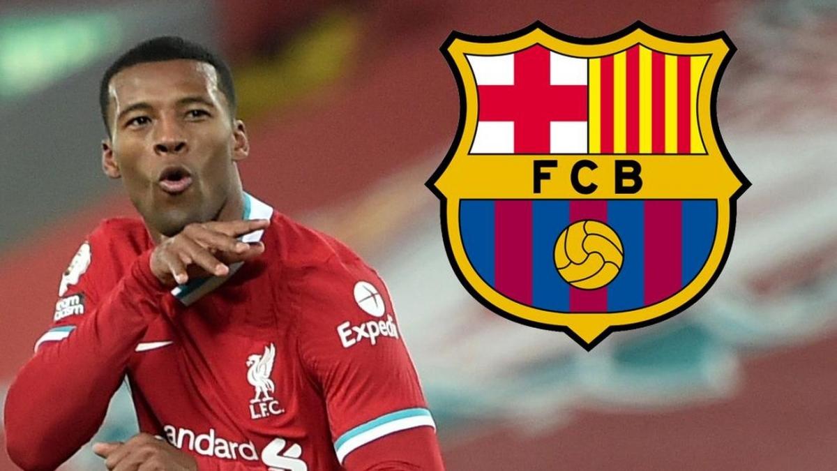 Wijnaldum đạt thỏa thuận gia nhập Barca theo dạng chuyển nhượng tự do. (Ảnh: The Sun)