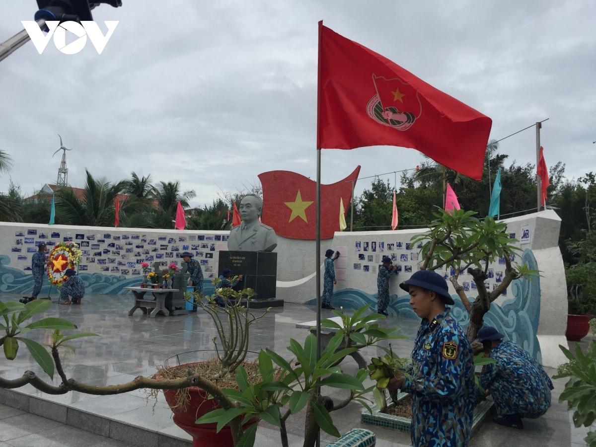 Công viên Đại tướng Võ Nguyên Giáp trên đảo Sơn Ca, huyện đảo Trường Sa, tỉnh Khánh Hoà