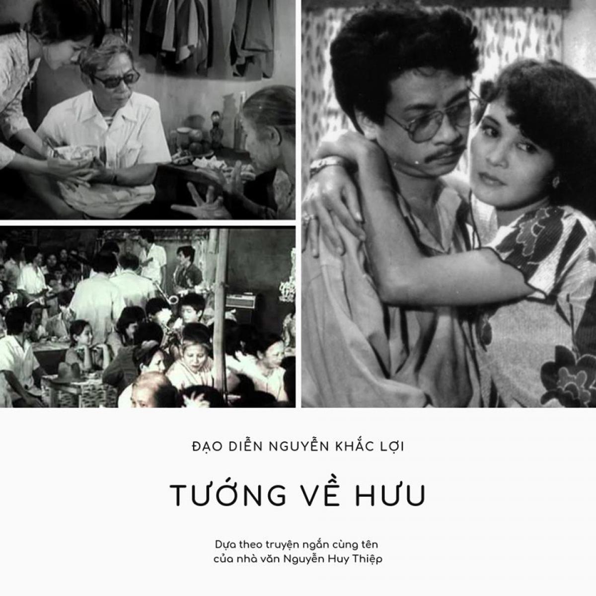 """Bộ phim """"Tướng về hưu"""" được làm từ truyện ngắn cùng tên của nhà văn Nguyễn Huy Thiệp"""