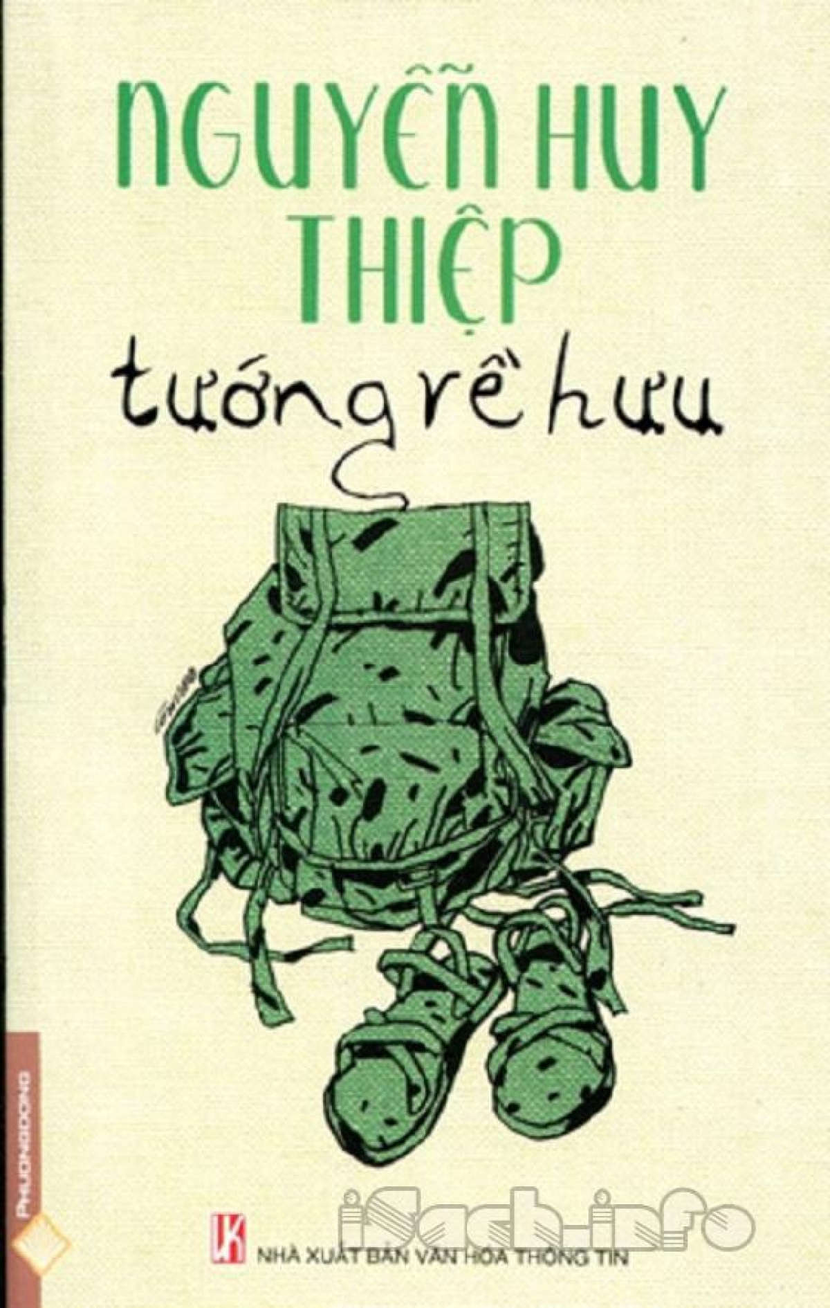 """Tác phẩm """"Tướng về hưu"""" của nhà văn Nguyễn Huy Thiệp."""